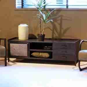 Livin24 | TV-meubel Fred 3 lades