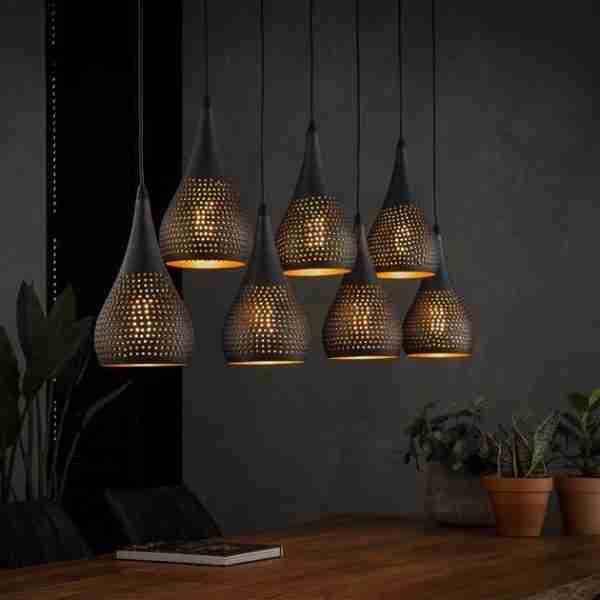 Dimehouse | Hanglamp Aya 7-lichts