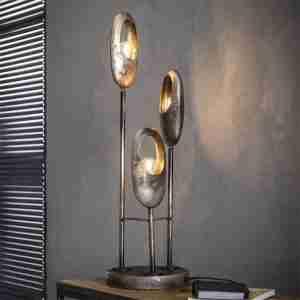 Livin24 | Tafellamp Esther 3-lichts
