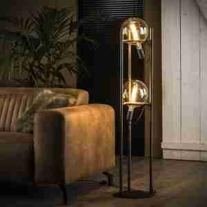 Livin24 | Vloerlamp Cosmos 2-lichts