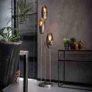 Livin24 | Vloerlamp Esther 3-lichts