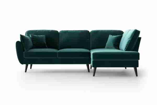 My Pop Design | Hoekbank Auteuil Noir hoekdeel rechts